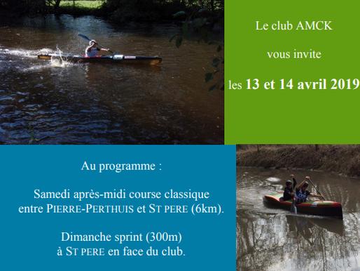 Championnat régional Bourgogne-Franche-Comté Canoë Kayak - Descente « classique et sprint »