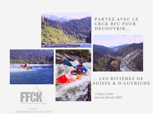 Découvrez la Suisse et l'Autriche avec le CRCK BFC ! - Stage loisir et formation PC Rouge