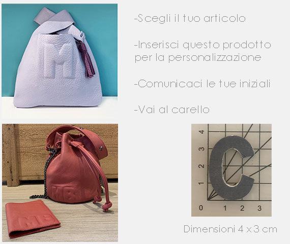 Personalizzazione /Costumization SMALL