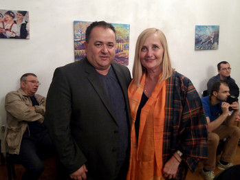 Ilija Šaula i Gordana Vlajić