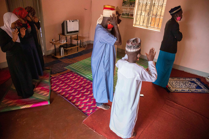 Katumba Badru Sultan in Kampala, Uganda