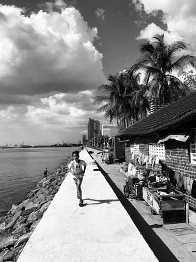 Minh Pham in Manila, Philippines
