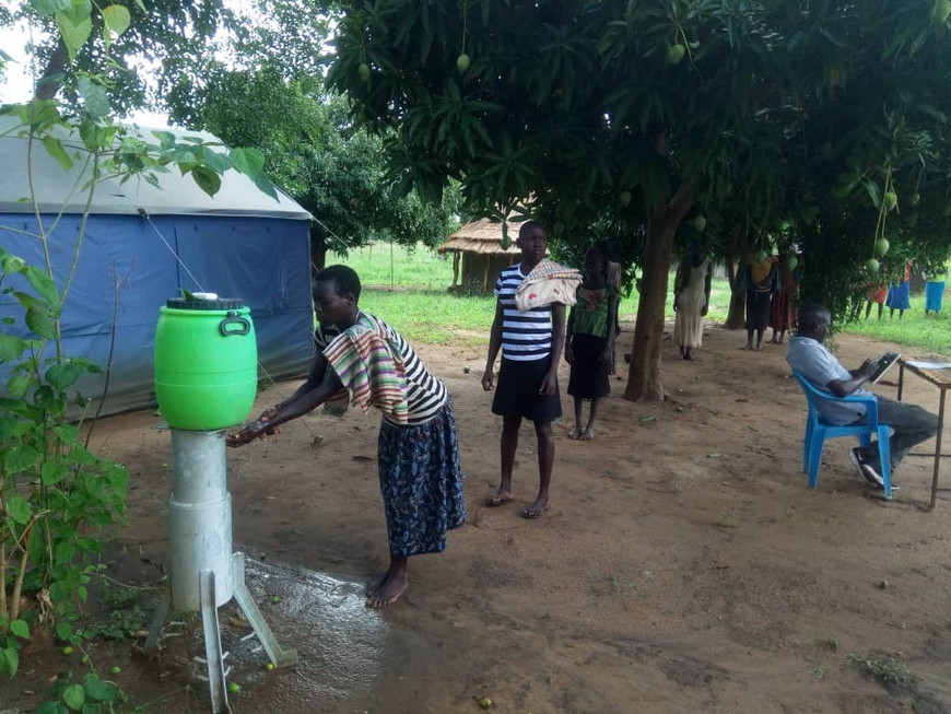 Tony Anywar in Eastern Equatoria, South Sudan (courtesy of AVSI)