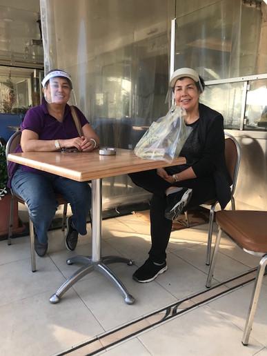 Zina Ayoub in Beirut, Lebanon