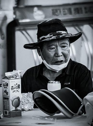 Enson Renton in Dongducheon, South Korea