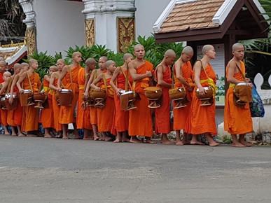 Tiao David Somanith in Luang Prabang, Laos