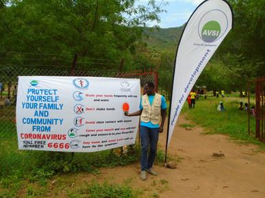 John Lemunyang in Ikotos, South Sudan (courtesy of AVSI)