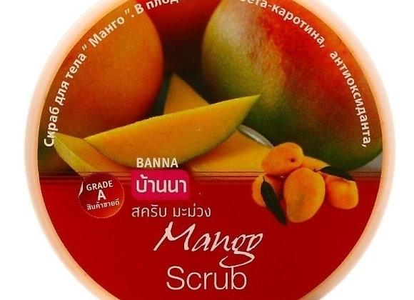 Витаминный скраб для тела Banna 250 грамм манго