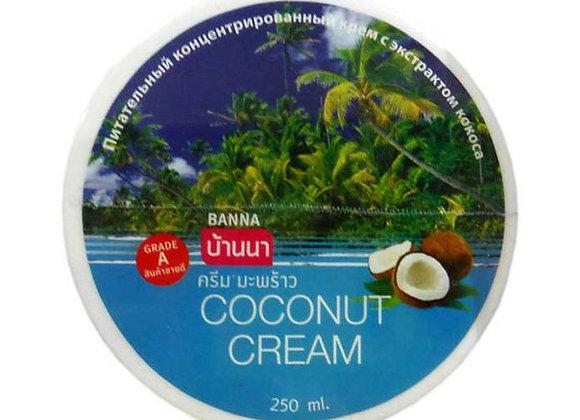 Подтягивающий крем с кокосовым маслом