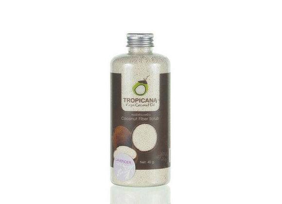 Сухой кокосовый скраб для тела и лица 40 гр