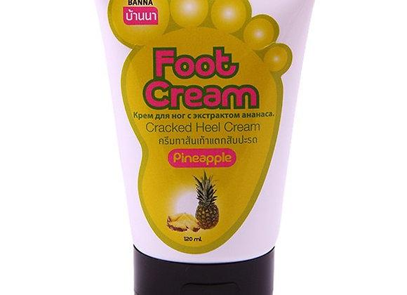 Смягчающий крем для ног с ананасом