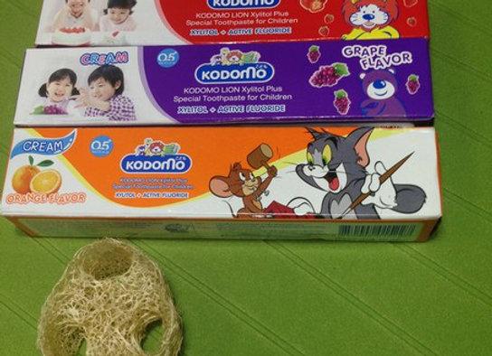Специальная фторсодержащая детская тайская зубная паста