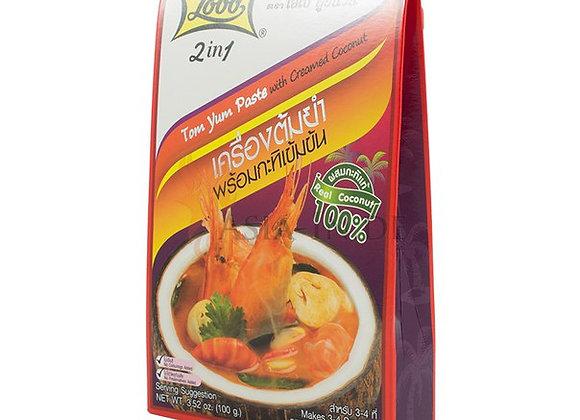 Тайский знаменитый суп Том Ям Кунг
