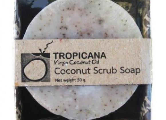 Кокосовое мыло-скраб Tropicana, 85гр