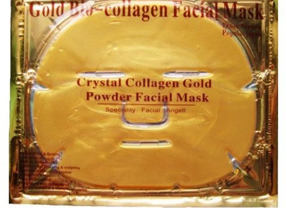 Коллагеновая маска с биоактивным золотом/алое/угольная/гиалуроновой