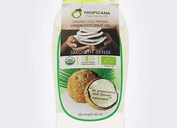 100% Кокосовое масло Tropicana 500 мл