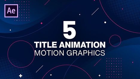 5 Title Animation in After Effects.jpg