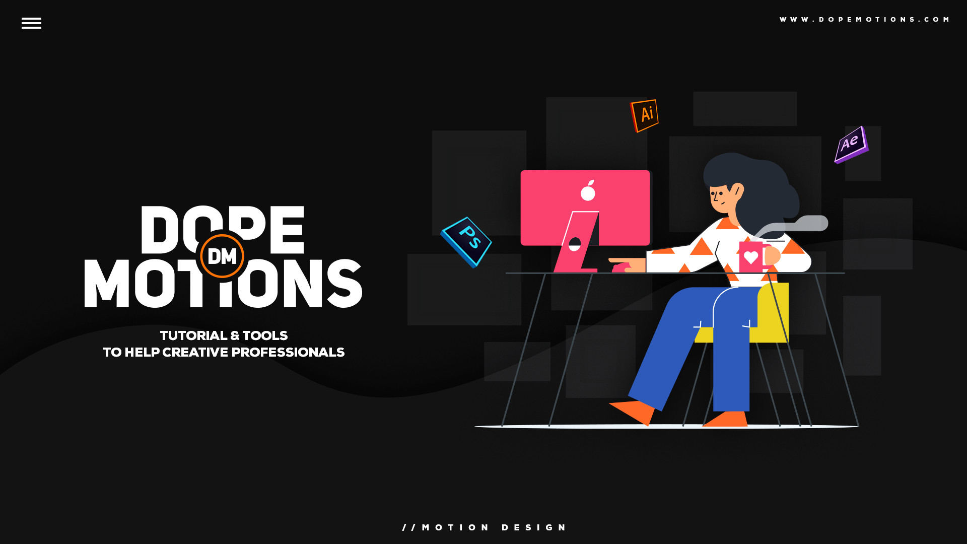 Free Motion Graphic Tutorials | Dope Motions