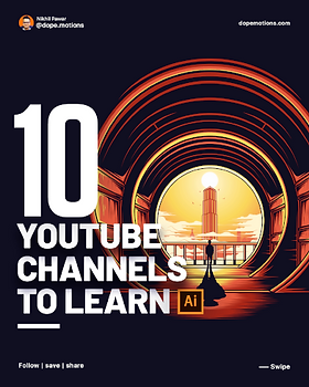 Youtube Channels to Learn Illustrator