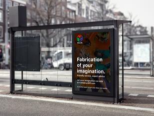 FabLab Bus Advertisement