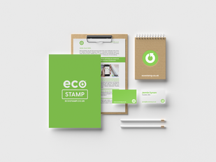 EcoStamp Branding Mockup