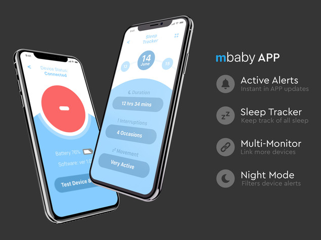 mBaby Sleeping Monitor