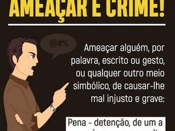 Ameaça. Artigo 147 do Código Penal.