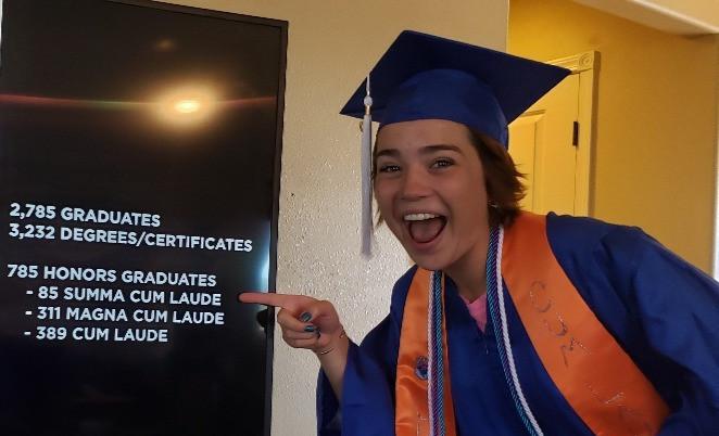 Maisy graduated from Boise State Summa C