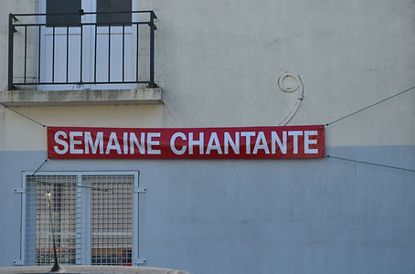 Affiches semaines chantantes