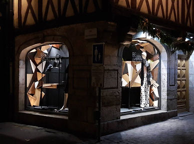 exposition boutique Bernar Benar Dijon 2017 Mathisse Dalstein