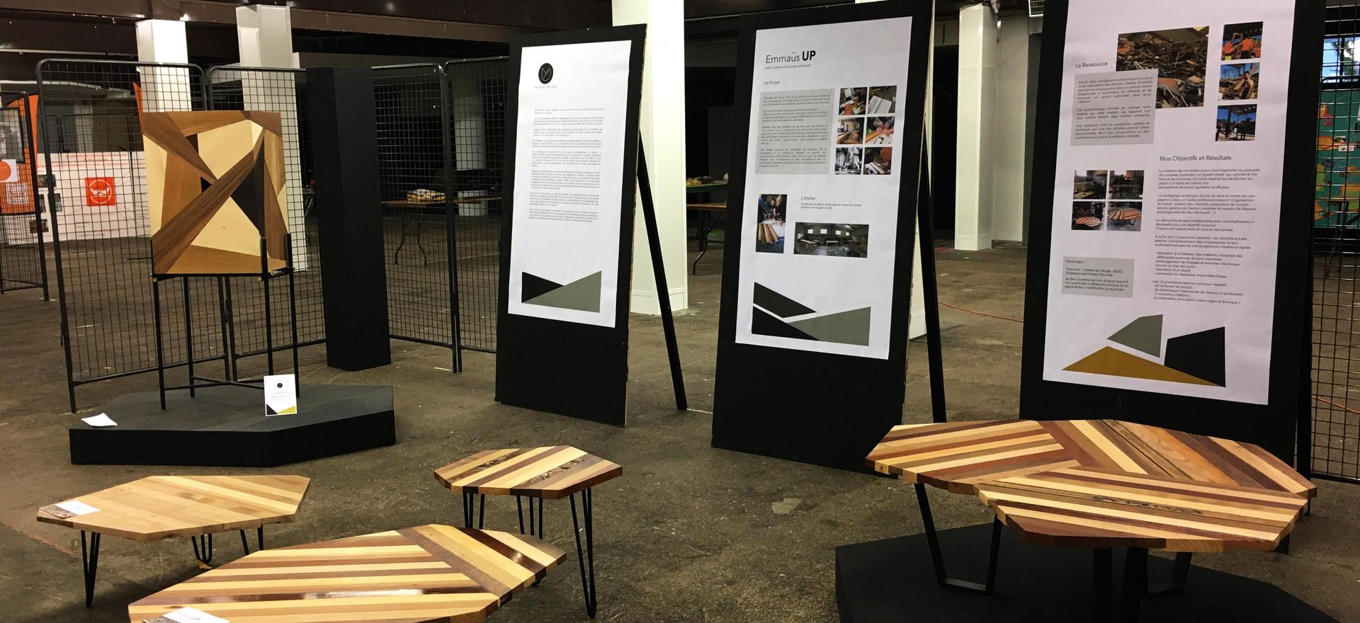 Salon régional Emmaüs projet Emmaüs UP