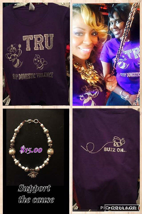 Bee TrU Signature Domestic Violence Shirt