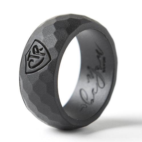 "Men's ""Black"" Silicone Ring"