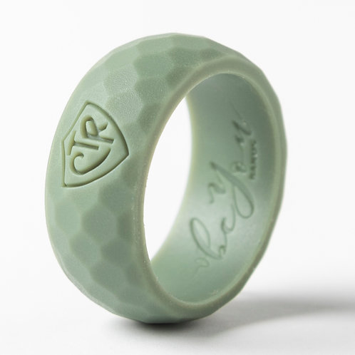"""Men's """"Sacred Grove Green"""" Silicone Ring"""