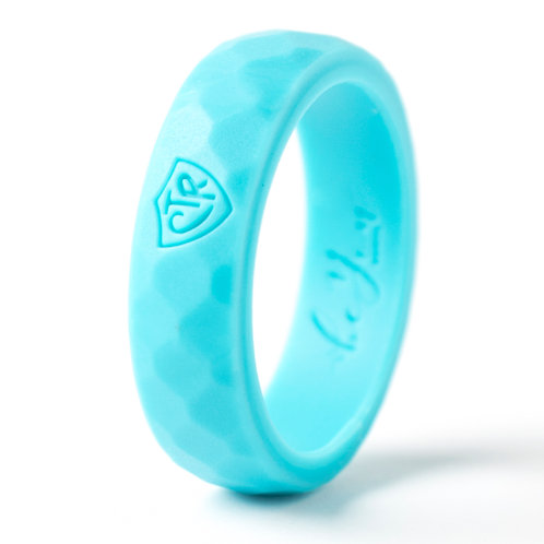 "Women's ""Aqua"" Silicone Ring"