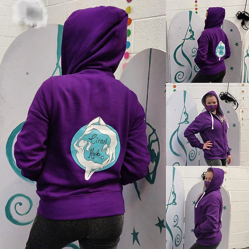 NEW! Circus Hub Zip Up Hoodies