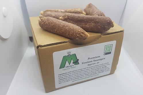 Venison Sausages dog treat