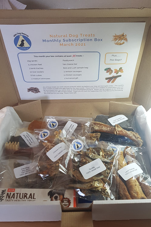 Natural Dog Treat Box