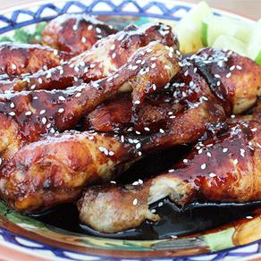 Sticky teriyaki chicken