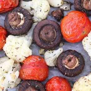 Groenten met Italiaanse kruiden