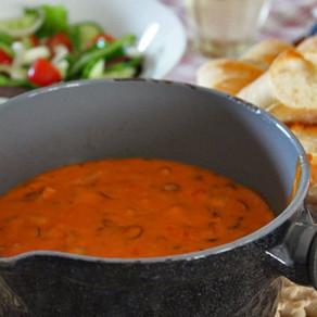 Koken met Miep: Tomaten-kaasfondue