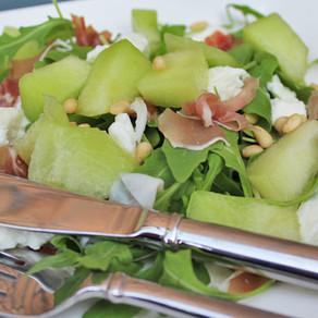 Meloen Mozzerella salade