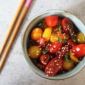 Japanse tomatensalade