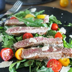 Tagliata (biefstuk salade)