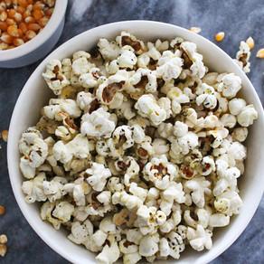 Popcorn met Italiaanse kruiden