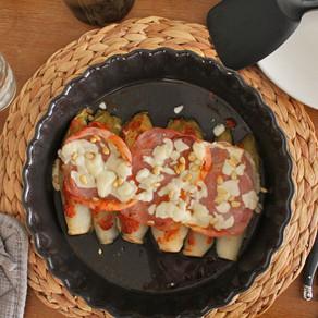 Witlof met bacon en geitenkaas