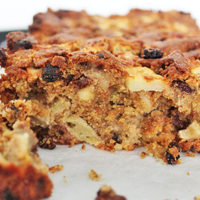 Healthy appelcake met noten