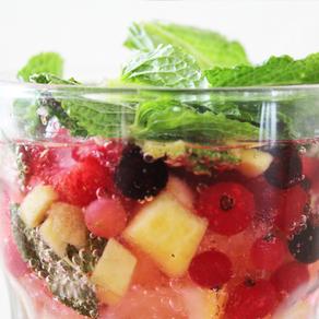 Bruisend fruitdrankje