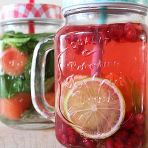 Verfrissende fruitdrankjes