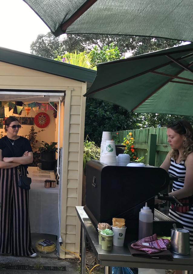 Ponsonby market day - Cafe pop up day rental